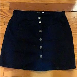 Urban Outfitters BDG Button Up Skirt